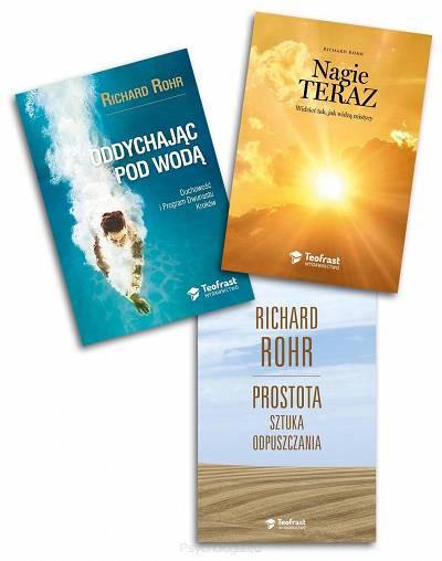 Zestaw trzech książek Richarda Rohra